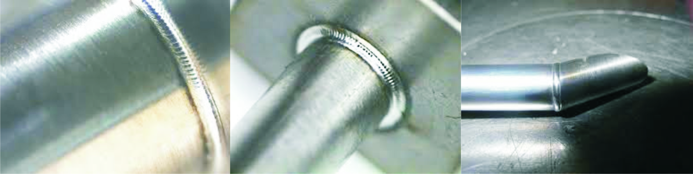 Micro Laser Welding close up